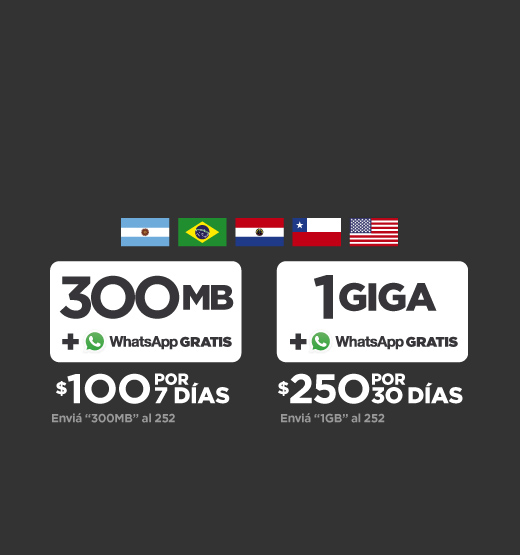 Packs con Roaming | Claro Uruguay